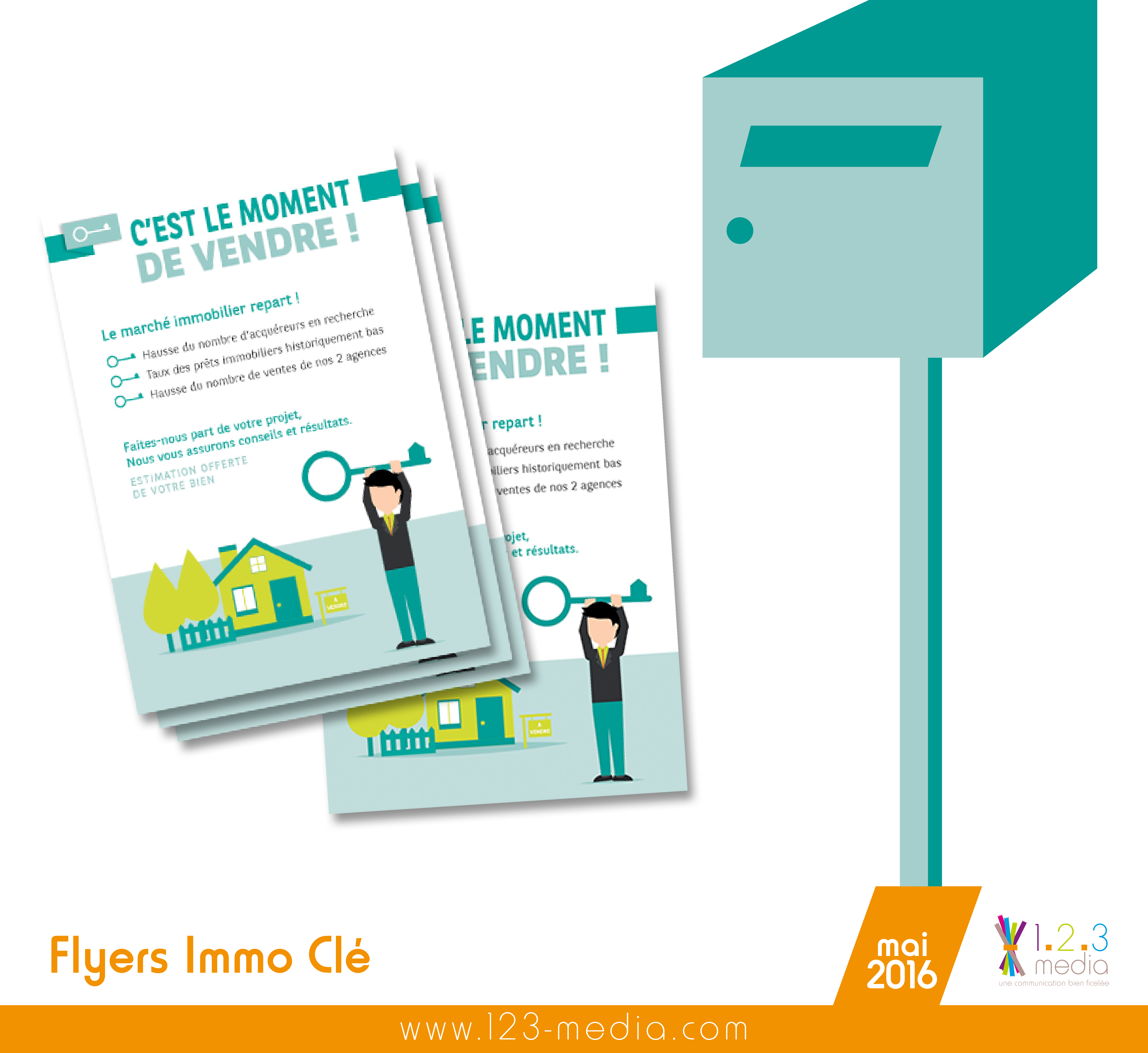 flyer immo cle
