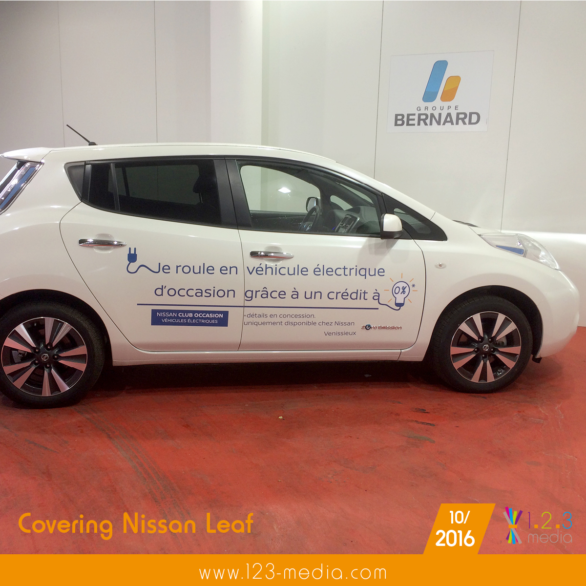 covering nissan leaf